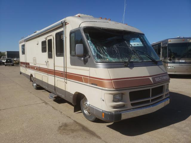 Fleetwood Southwind salvage cars for sale: 1988 Fleetwood Southwind