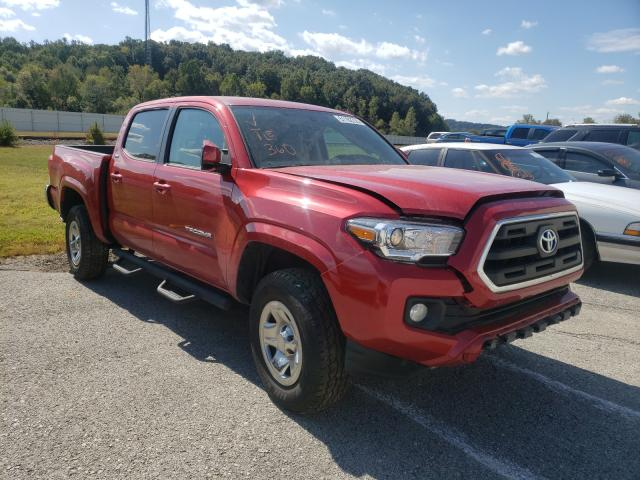 Salvage cars for sale from Copart Lawrenceburg, KY: 2016 Toyota Tacoma DOU