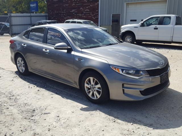 Salvage cars for sale from Copart Hampton, VA: 2016 KIA Optima LX