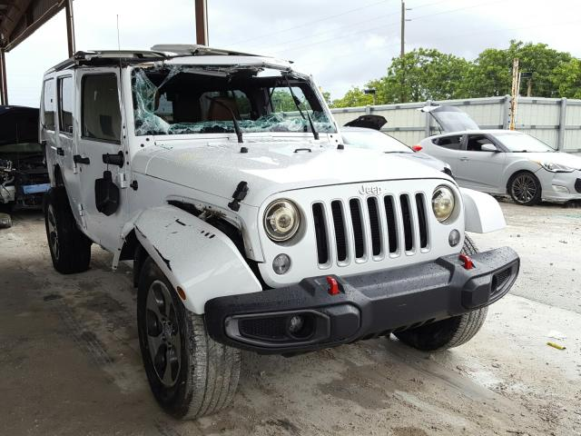 Jeep salvage cars for sale: 2016 Jeep Wrangler U