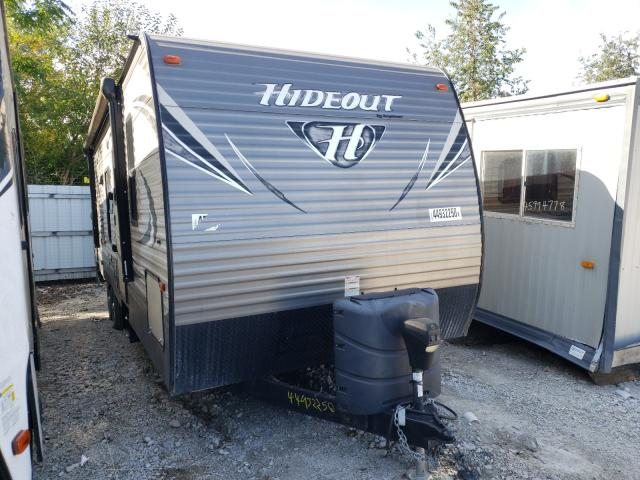 Hideout salvage cars for sale: 2017 Hideout Trailer
