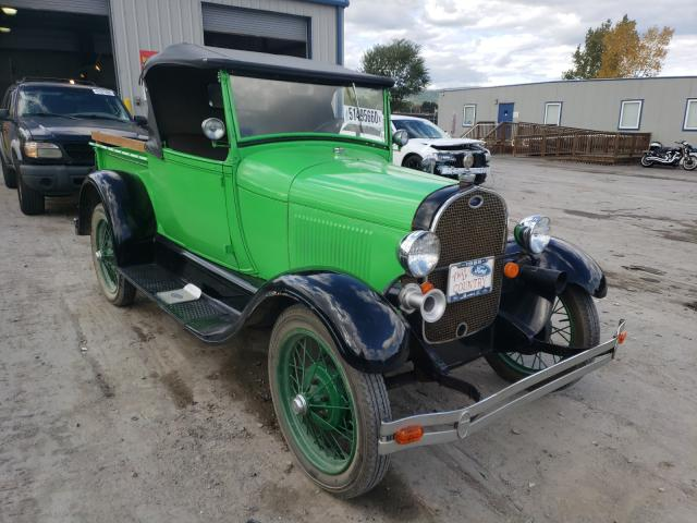 Salvage cars for sale from Copart Duryea, PA: 1928 Ford Roadster