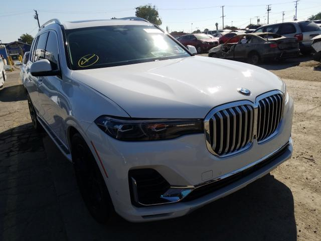 BMW X7 XDRIVE5 salvage cars for sale: 2019 BMW X7 XDRIVE5