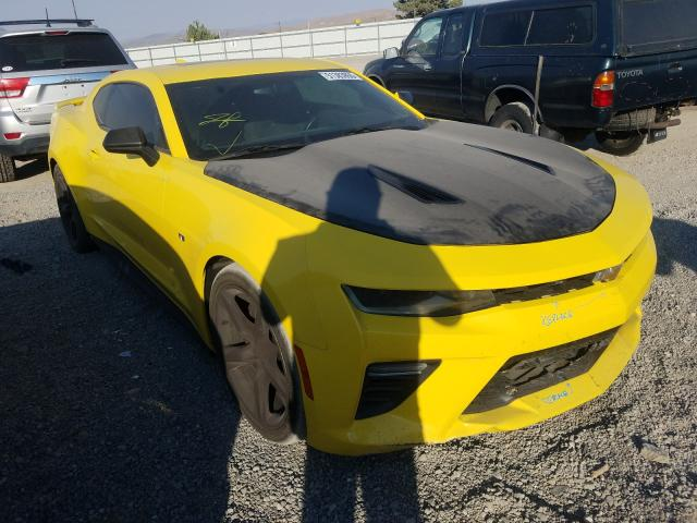 Salvage cars for sale from Copart Reno, NV: 2017 Chevrolet Camaro SS