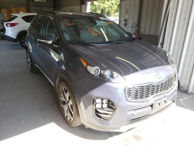Salvage cars for sale from Copart Shreveport, LA: 2019 KIA Sportage S