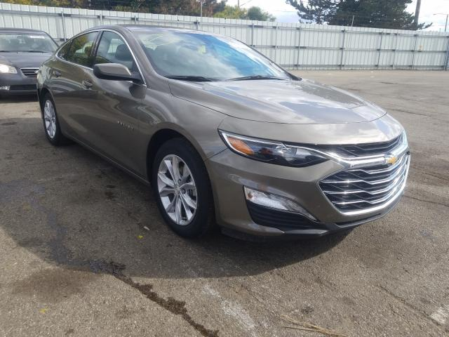 Chevrolet salvage cars for sale: 2020 Chevrolet Malibu LT