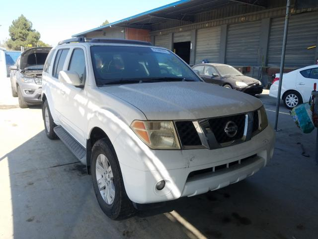 Nissan salvage cars for sale: 2005 Nissan Pathfinder