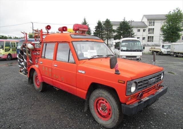 Salvage cars for sale at North Billerica, MA auction: 1988 Nissan Patrol