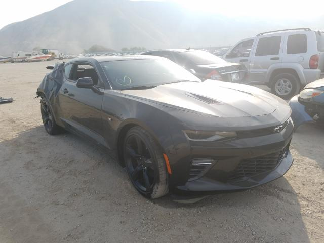 Salvage cars for sale from Copart Van Nuys, CA: 2018 Chevrolet Camaro SS