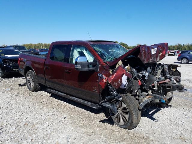 Salvage cars for sale from Copart Alorton, IL: 2016 Ford F150 Super