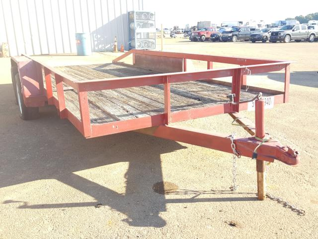 Homemade Trailer salvage cars for sale: 1996 Homemade Trailer
