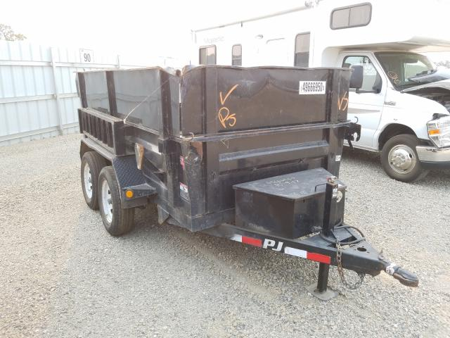 Salvage cars for sale from Copart Anderson, CA: 2016 PJ Trailer
