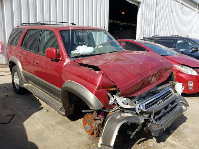 Toyota 4runner LI salvage cars for sale: 1999 Toyota 4runner LI