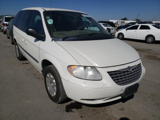 Chrysler Voyager salvage cars for sale: 2003 Chrysler Voyager