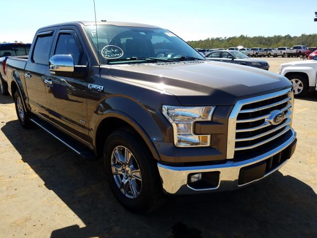Salvage cars for sale from Copart Eight Mile, AL: 2015 Ford F150 Super