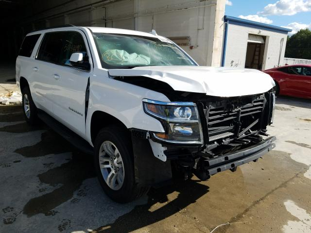 Salvage cars for sale from Copart Fredericksburg, VA: 2020 Chevrolet Suburban K