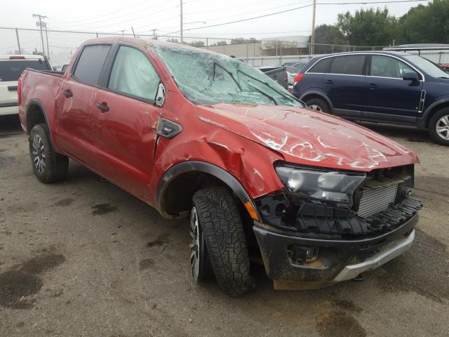 Salvage cars for sale from Copart Moraine, OH: 2019 Ford Ranger SUP