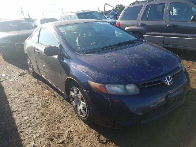 Salvage cars for sale from Copart Hillsborough, NJ: 2006 Honda Civic LX