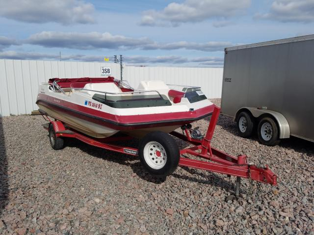 Godfrey salvage cars for sale: 1995 Godfrey Boat With Trailer