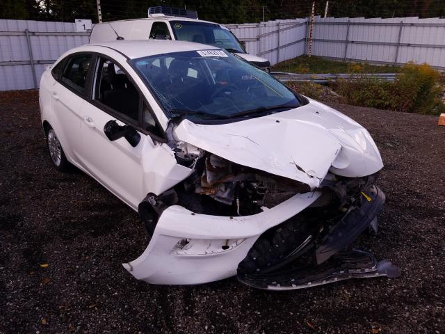 Salvage cars for sale from Copart London, ON: 2015 Ford Fiesta S
