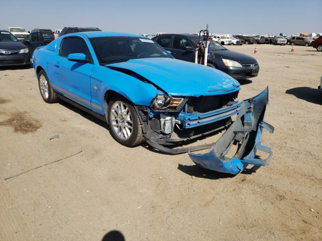 Salvage cars for sale from Copart Amarillo, TX: 2012 Ford Mustang