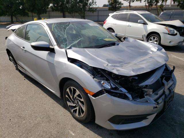Salvage cars for sale from Copart Rancho Cucamonga, CA: 2017 Honda Civic LX