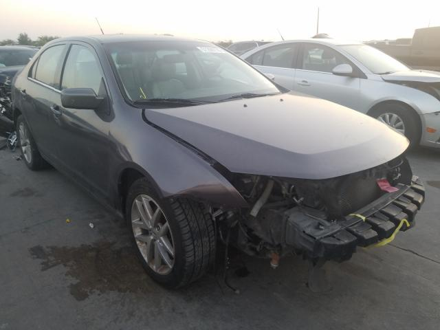 Salvage cars for sale from Copart Grand Prairie, TX: 2012 Ford Fusion SEL