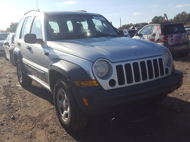 Jeep Liberty salvage cars for sale: 2007 Jeep Liberty