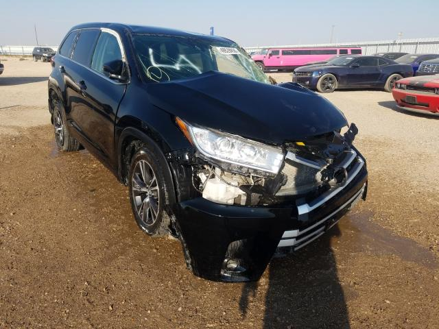 Salvage cars for sale from Copart Amarillo, TX: 2018 Toyota Highlander