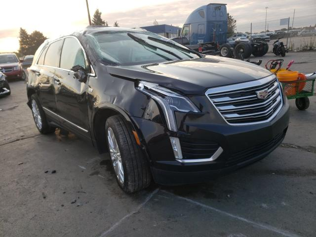 Salvage cars for sale from Copart Woodhaven, MI: 2018 Cadillac XT5 Premium