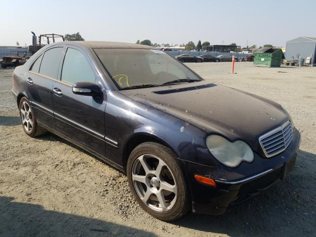Salvage cars for sale from Copart Antelope, CA: 2001 Mercedes-Benz C 240