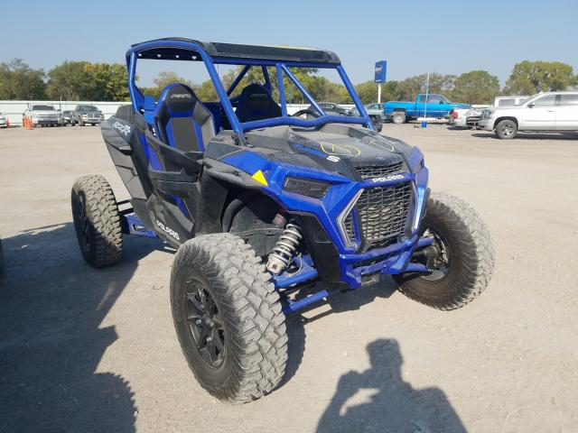 Salvage cars for sale from Copart Wichita, KS: 2019 Polaris RZR XP Turbo