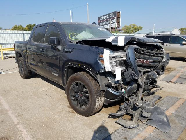 Salvage cars for sale from Copart Wichita, KS: 2020 GMC Sierra K15