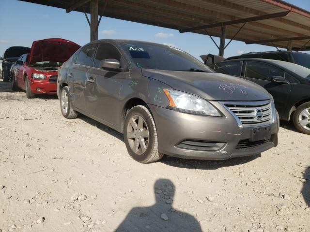 Salvage cars for sale from Copart Temple, TX: 2015 Nissan Sentra S