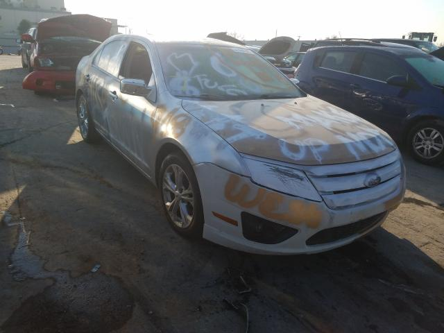 Salvage cars for sale from Copart Tulsa, OK: 2012 Ford Fusion SE