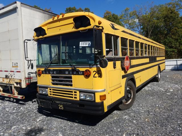 1990 BLUEBIRD  SCHOOL BUS