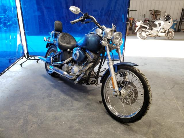 Salvage cars for sale from Copart Spartanburg, SC: 2006 Harley-Davidson Fxsti