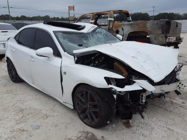 Salvage cars for sale from Copart Newton, AL: 2016 Lexus IS 200T