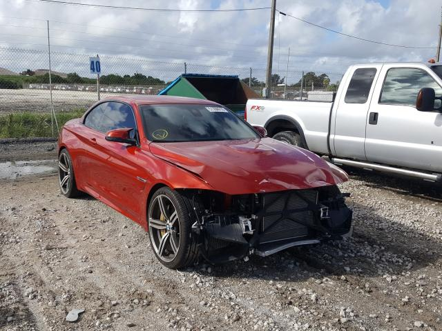 BMW M4 salvage cars for sale: 2017 BMW M4