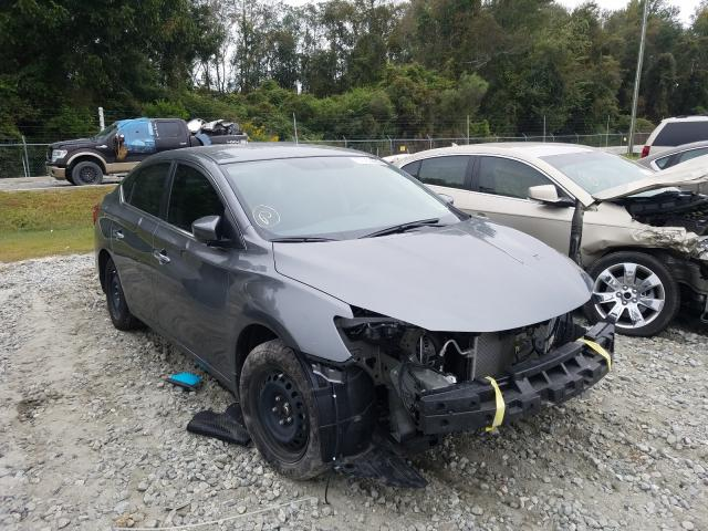 Salvage cars for sale from Copart Tifton, GA: 2019 Nissan Sentra S