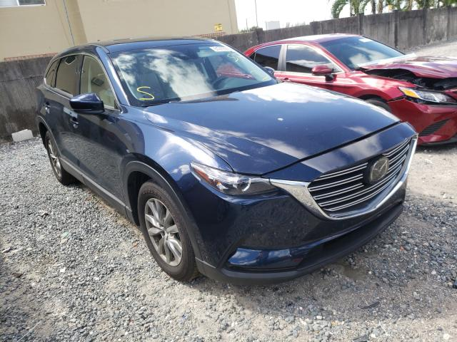 Salvage cars for sale from Copart Opa Locka, FL: 2019 Mazda CX-9 Touring