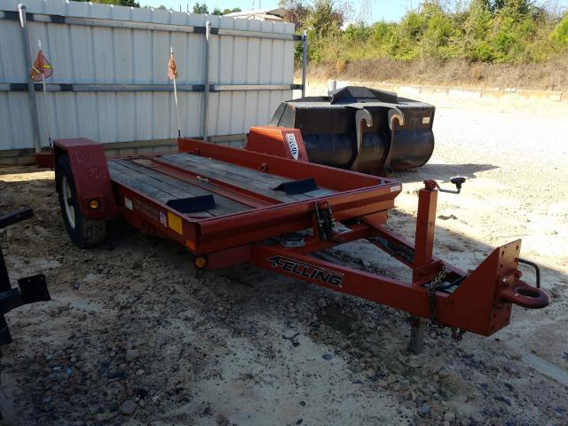 Salvage 2016 Felg TRAILER for sale