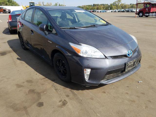 Salvage cars for sale from Copart New Britain, CT: 2013 Toyota Prius