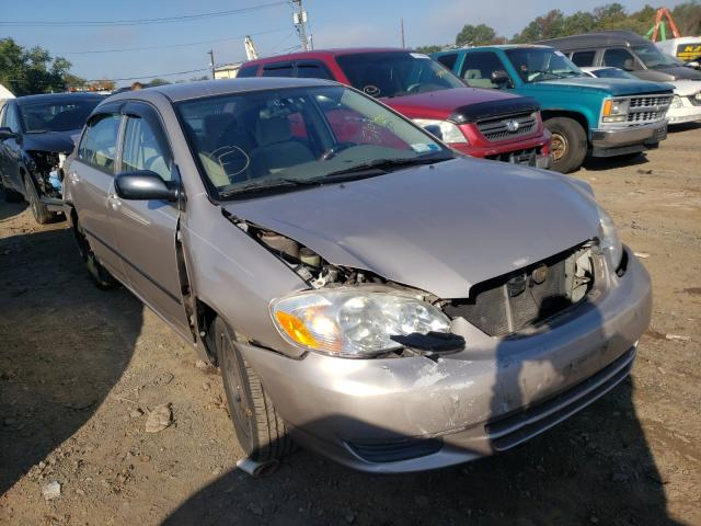 Salvage cars for sale from Copart Marlboro, NY: 2003 Toyota Corolla CE