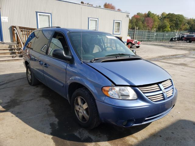 Dodge salvage cars for sale: 2007 Dodge Grand Caravan