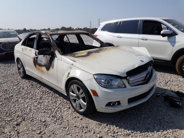 Salvage cars for sale at Memphis, TN auction: 2009 Mercedes-Benz C300