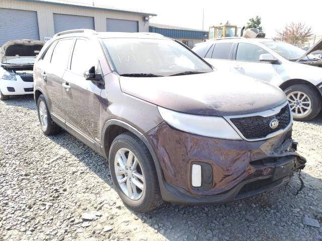 Vehiculos salvage en venta de Copart Eugene, OR: 2014 KIA Sorento LX