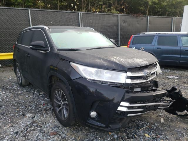 Salvage cars for sale from Copart Waldorf, MD: 2019 Toyota Highlander