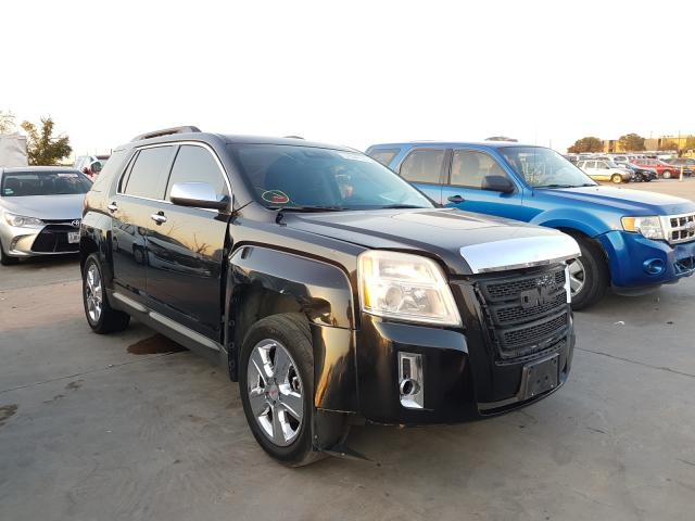 Salvage cars for sale from Copart Grand Prairie, TX: 2015 GMC Terrain SL
