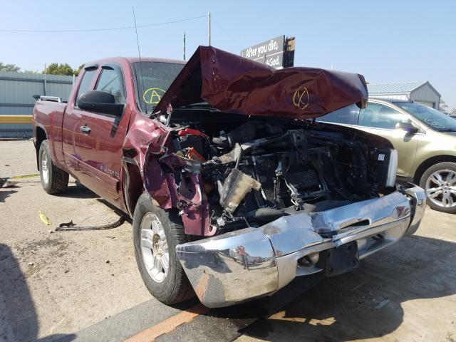 Salvage trucks for sale at Wichita, KS auction: 2013 Chevrolet Silverado